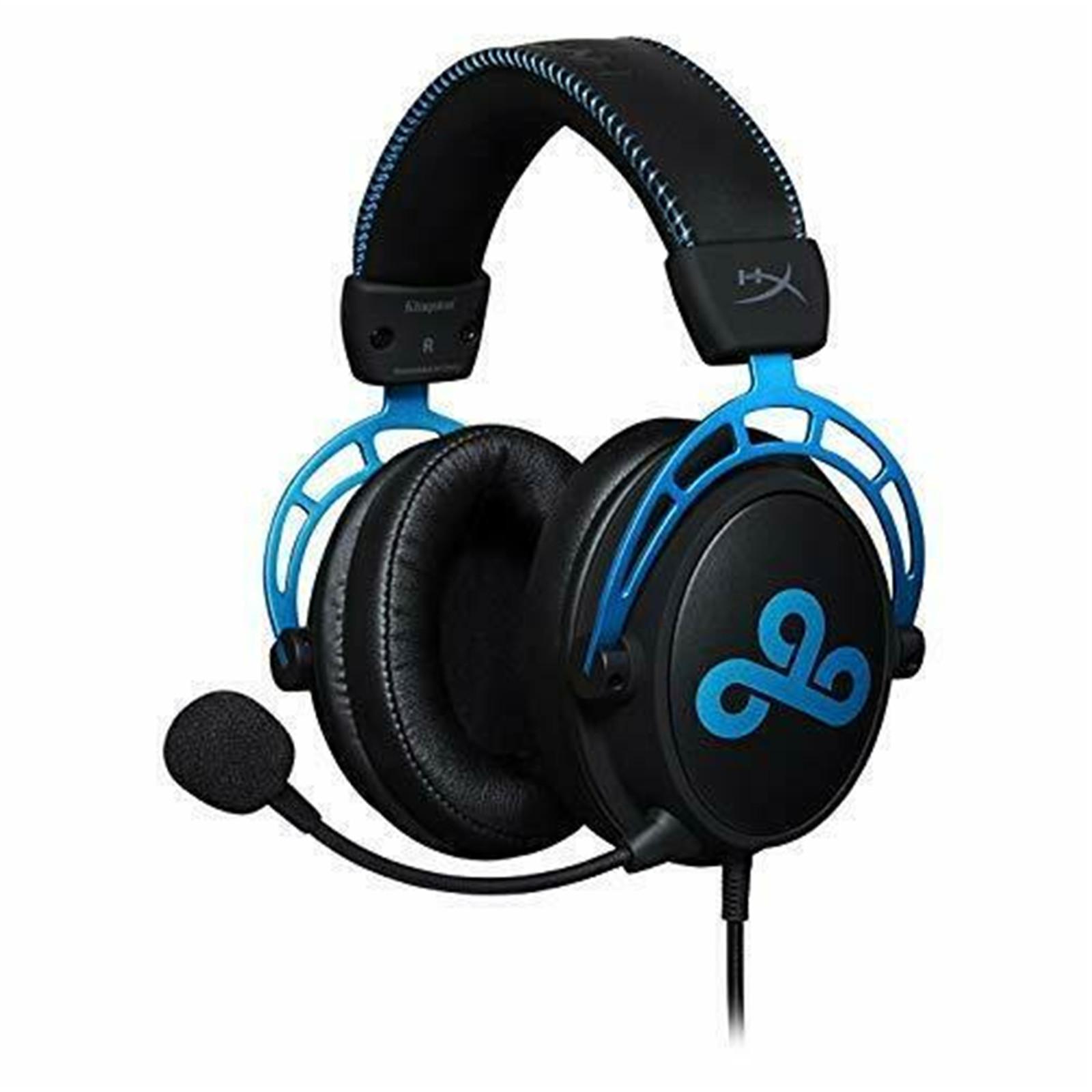 HyperX Cloud Alpha S - headset modrý