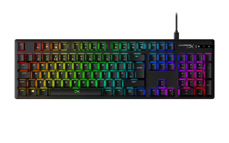 HyperX Alloy Origins herní klávesnice HX Aqua