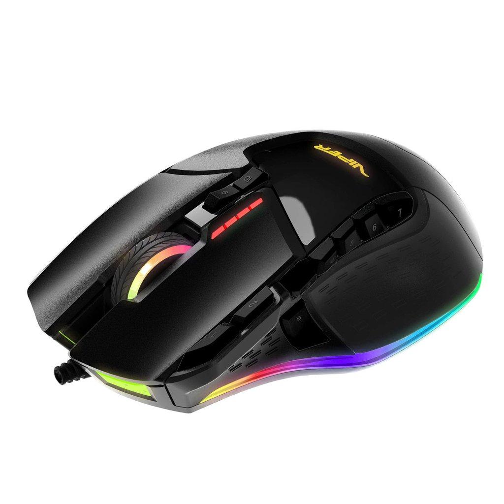 Patriot Viper RGB laserová myš Black edition