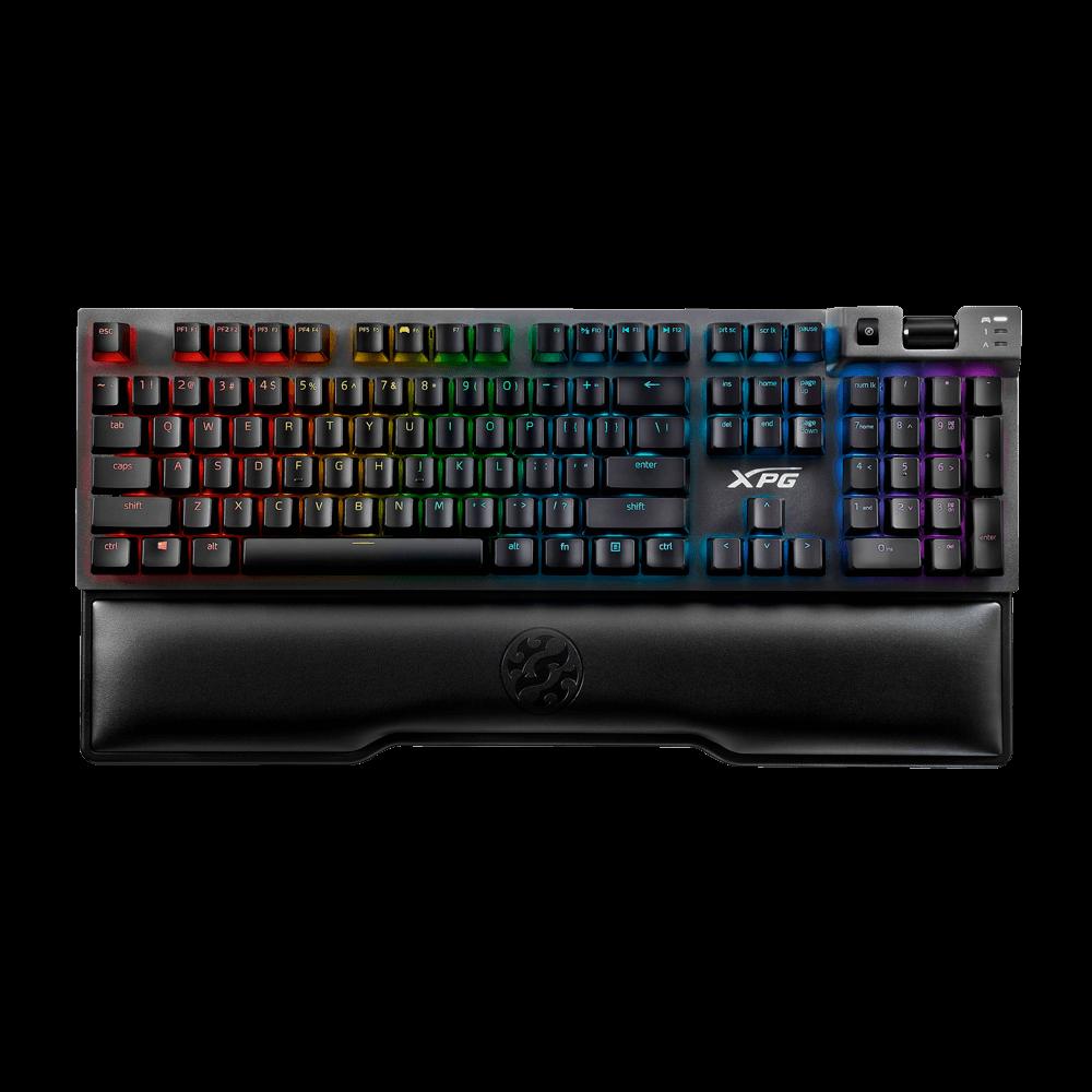 Adata XPG klávesnice SUMMONER RGB Cherry MX Silver EN - SUMMONER4C-BKCWW