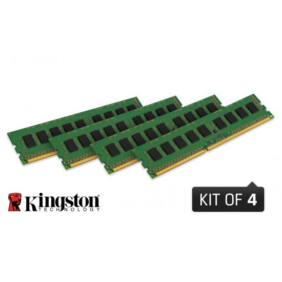 32GB DDR3L-1600MHz Kingston ECC CL11 1.35V 4x8GB