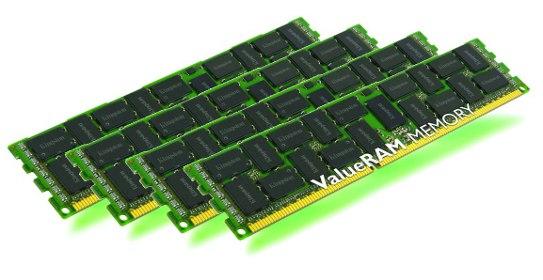 64GB DDR3L-1333MHz ECC Reg CL9 DR x4 1.35V, 4x16GB