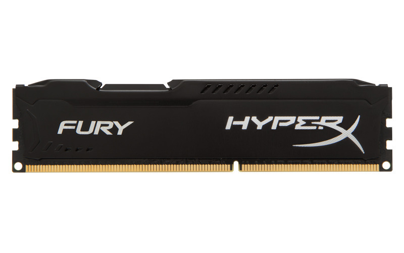 4GB DDR3-1600MHz Kingston HyperX Fury Black - HX316C10FB/4