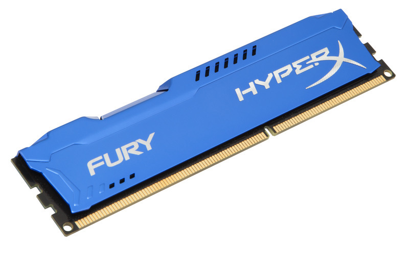4GB DDR3-1866MHz Kingston HyperX Fury Blue