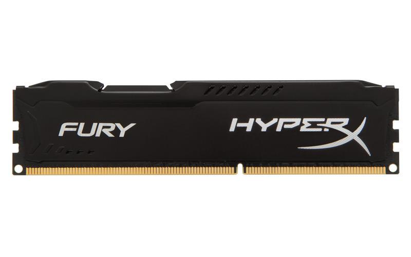 4GB DDR3-1866MHz Kingston HyperX Fury Black - HX318C10FB/4