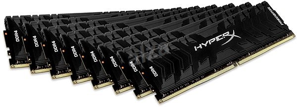 128GB DDR4-3000MHz CL15 Kingston XMP HyperX Predator, 8x16GB
