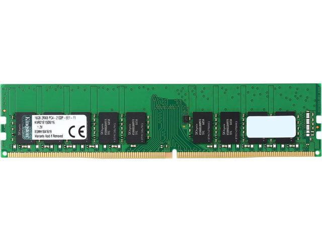 16GB 2133MHz DDR4 ECC Kingston CL15 2Rx8