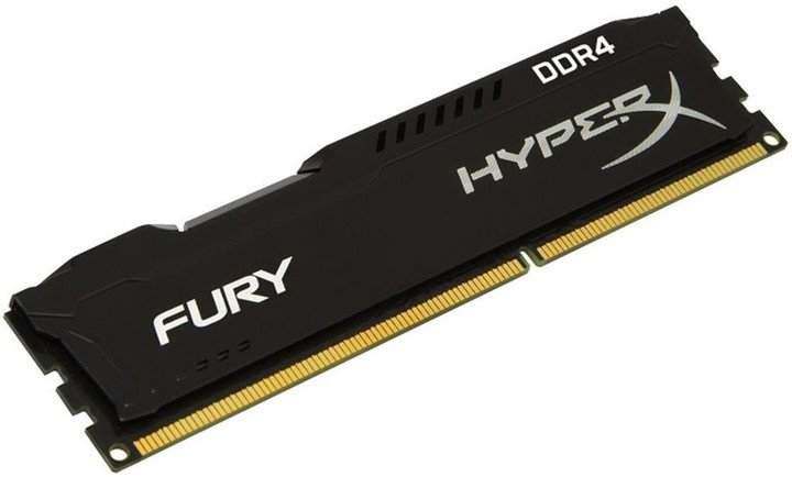 16GB 3200MHz DDR4 CL18 1Rx8 HyperX FURY Black