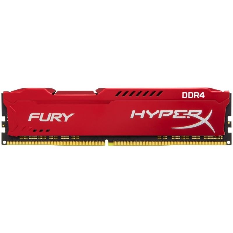 16GB 3200MHz DDR4 CL18 HyperX FURY Red