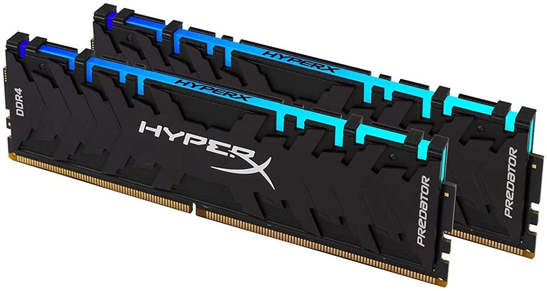 16GB DDR4-3600MHz HyperX Predator CL17 RGB, kit 2x8GB 1Rx16 - HX436C17PB4AK2/16