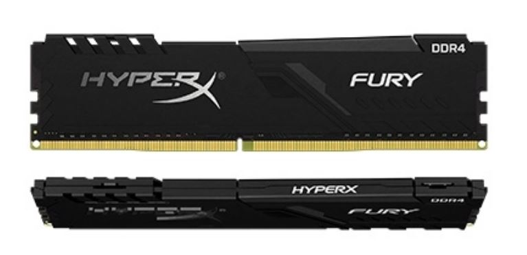 16GB DDR4-3600MHz CL17 HyperX Fury, kit 2x8GB - HX436C17FB3K2/16