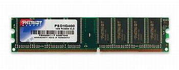 1GB DDR 400MHz Patriot CL3