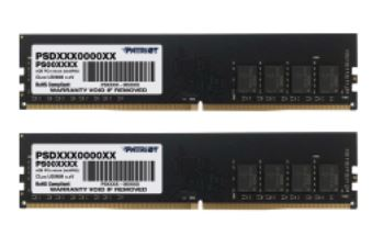 32GB DDR4-3200MHz Patriot CL22, kit 2x16GB