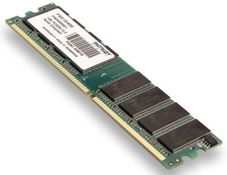 1GB DDR 400Mhz  PATRIOT CL3 s chladičem