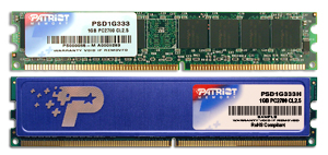 1GB DDR 333Mhz  PATRIOT CL2.5