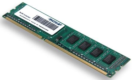 4GB DDR3 1333MHz Patriot CL9 SR (pro integratory)