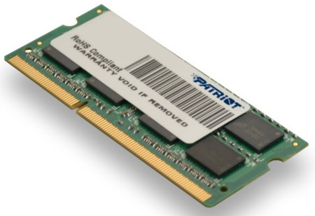 SO-DIMM 8GB DDR3-1600MHz PATRIOT CL11 - PSD38G16002S