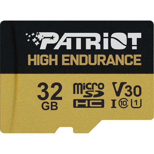 32GB microSDHC Patriot High Endurance V30 U3 až 95MB/s - PEF32GE31MCH