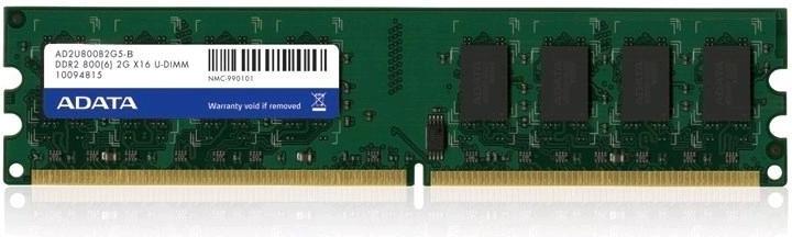 2GB DDR2 800MHz  ADATA CL5 single tray