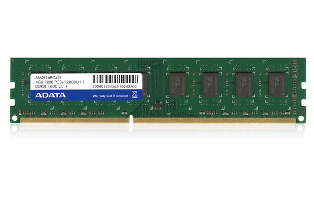 8GB DDR3L-1600MHz ADATA CL11 1,35V