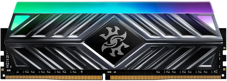 16GB DDR4-3000MHz ADATA XPG D41 RGB CL16, 2x8GB černá,  1024x16