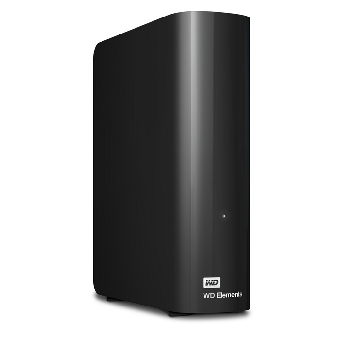 "Ext. HDD 3.5"" WD Elements Desktop 4TB USB"