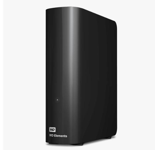 Ext. HDD 3.5'' WD Elements Desktop 14TB USB - WDBWLG0140HBK-EESN