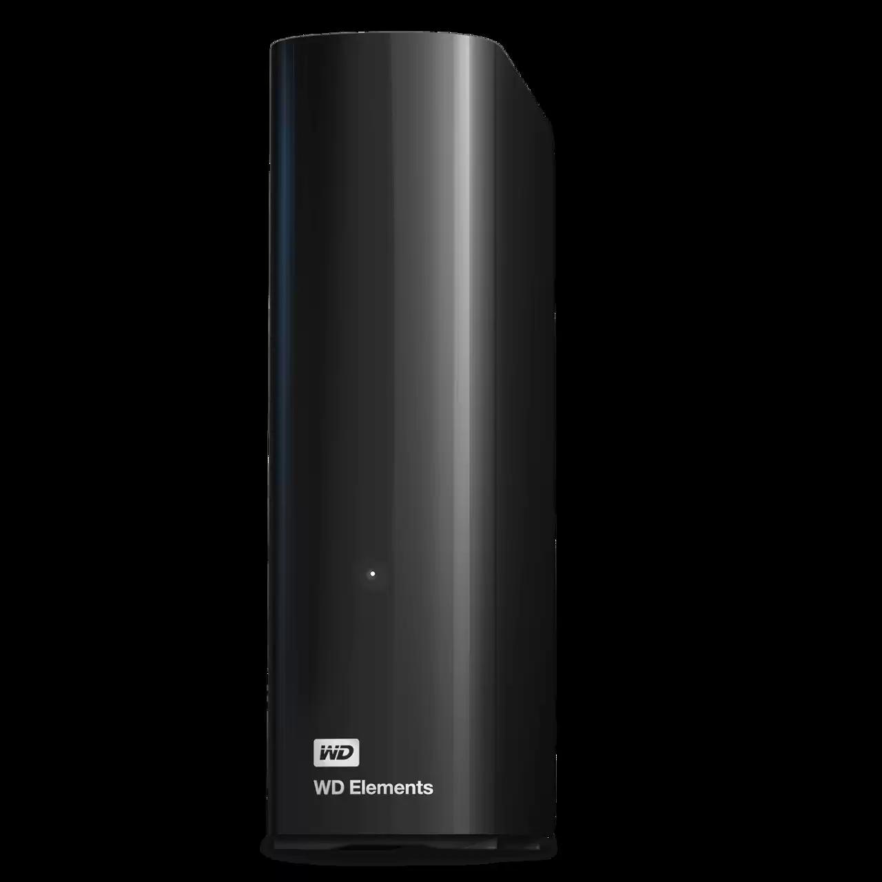 Ext. HDD 3.5'' WD Elements Desktop 16TB USB - WDBWLG0160HBK-EESN