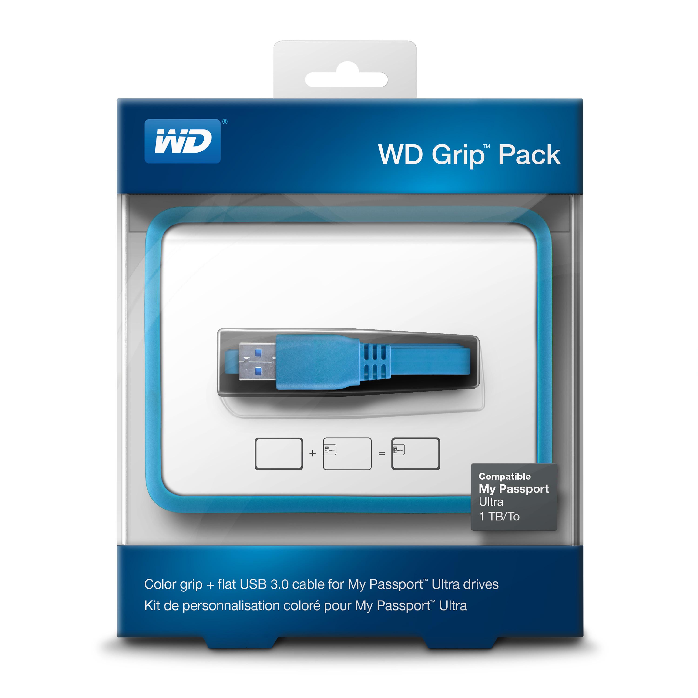 WD Grip rámeček, MP Ultra 500GB-1TB, šedá
