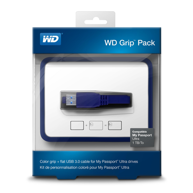 WD Grip rámeček, MP Ultra 500GB-1TB, tm.modrá