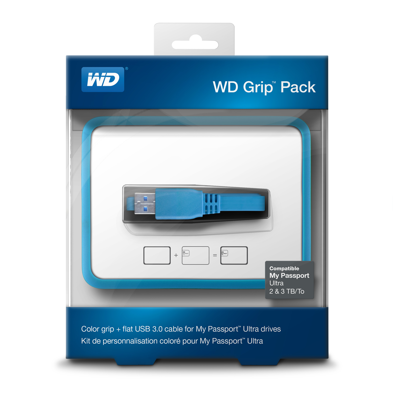 WD Grip rámeček, MP Ultra 2-3TB, šedá