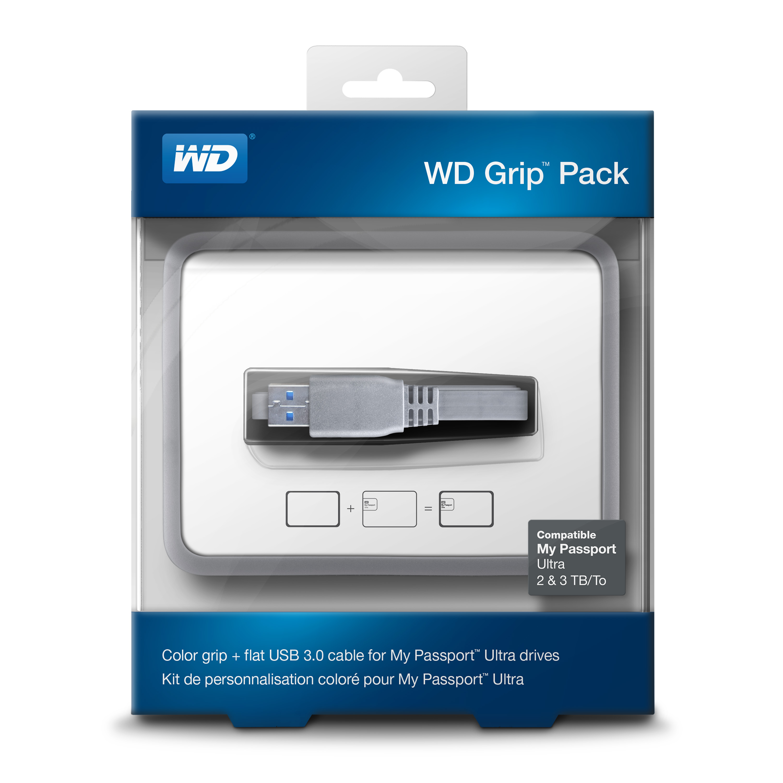 WD Grip rámeček, MP Ultra 2-3TB, modrá