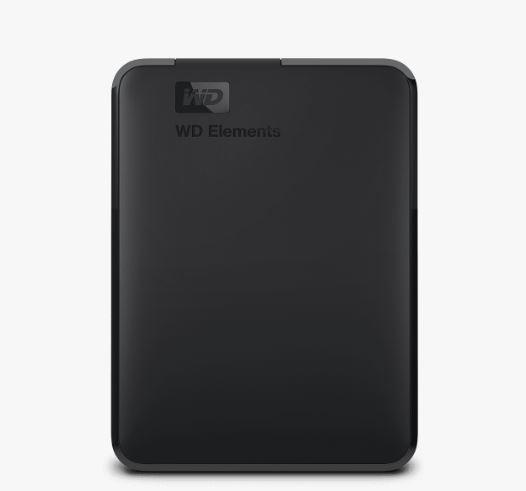 Ext. HDD 2.5'' WD Elements Portable 5TB USB - WDBU6Y0050BBK-WESN