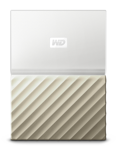 "Ext. HDD 2,5"" WD My Passport Ultra 2TB bílo-zlatá"