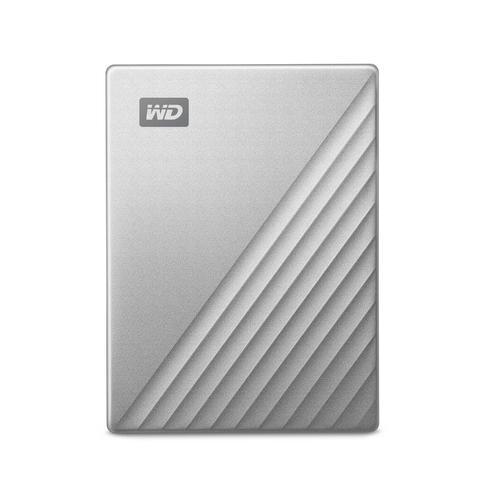 Ext. HDD 2,5'' WD My Passport Ultra 1TB stříbrná - WDBC3C0010BSL-WESN