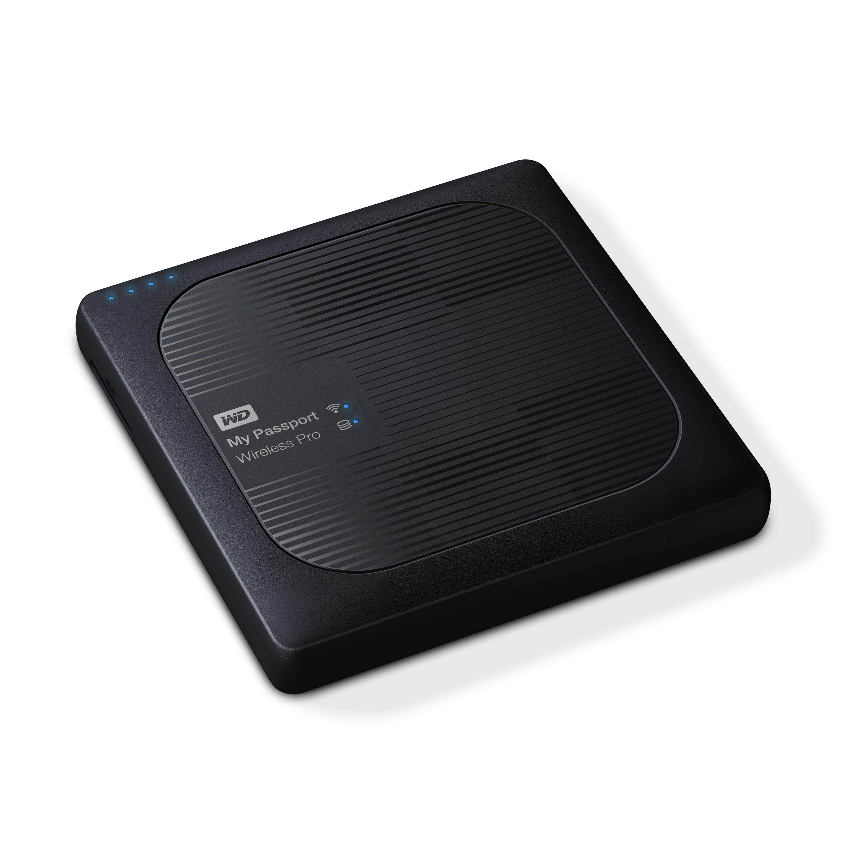 Ext.HDD 2.5'' WD My Pass.Wireless Pro 3TB USB3.0,SD