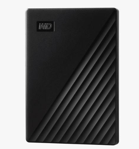 Ext. HDD 2,5'' WD My Passport 1TB USB 3.0. černý - WDBYVG0010BBK-WESN