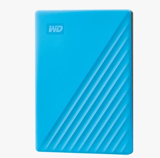 Ext. HDD 2,5'' WD My Passport 2TB USB 3.0. modrý - WDBYVG0020BBL-WESN