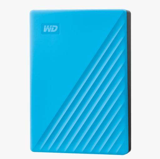 Ext. HDD 2,5'' WD My Passport 4TB USB 3.0. modrý - WDBPKJ0040BBL-WESN