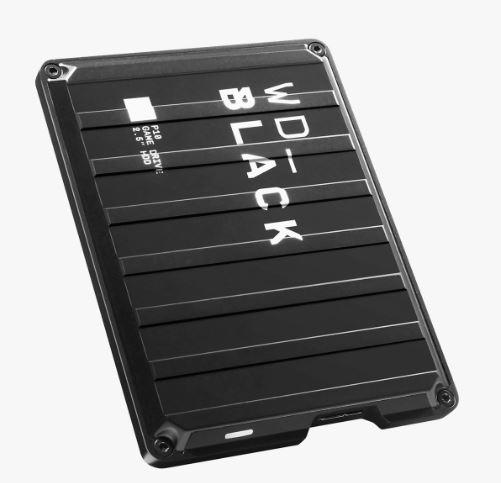 Ext. HDD 2,5'' WD_BLACK 2TB P10 Game Drive - WDBA2W0020BBK-WESN