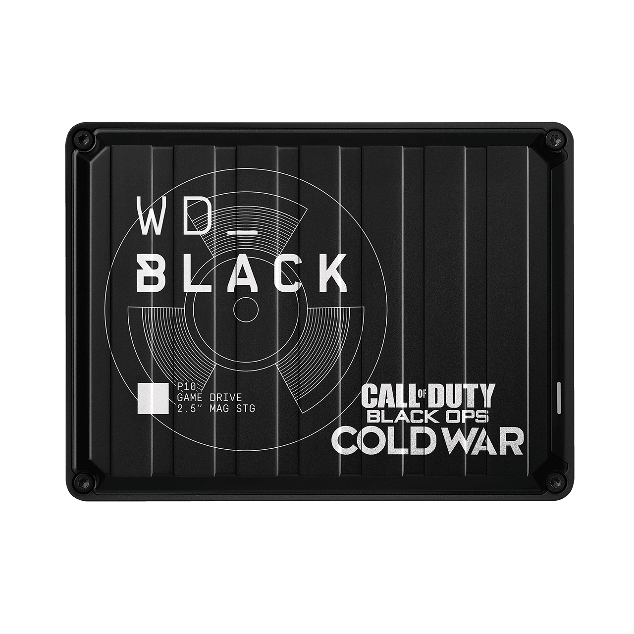 Ext. HDD 2,5'' WD_BLACK 2TB P10 Game Drive Cold War - WDBAZC0020BBK-WESN