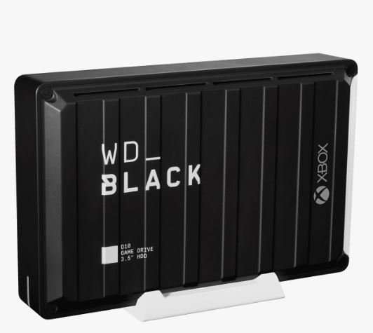 Ext. HDD 3,5'' WD_BLACK 12TB D10 Game Drive XboxOne