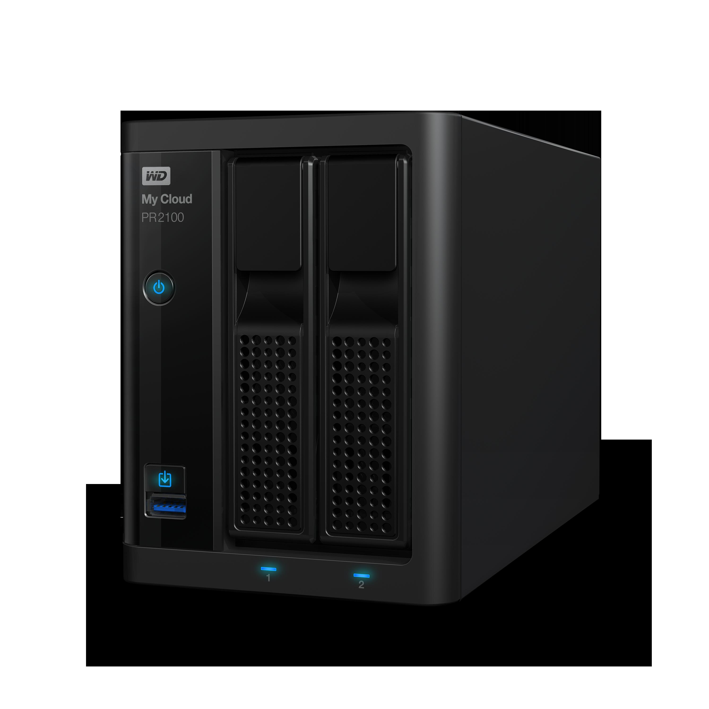 NAS 3,5' WD My Cloud Pro PR2100 8TB NAS LAN