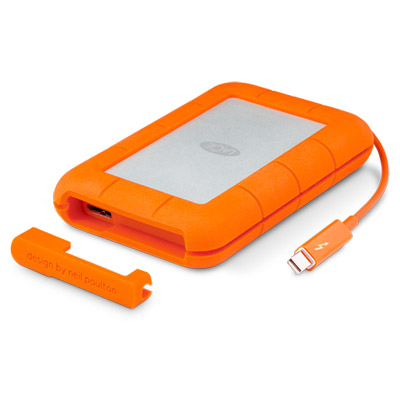 Ext. SSD LaCie Rugged Thunderbolt 500GB USB 3.0