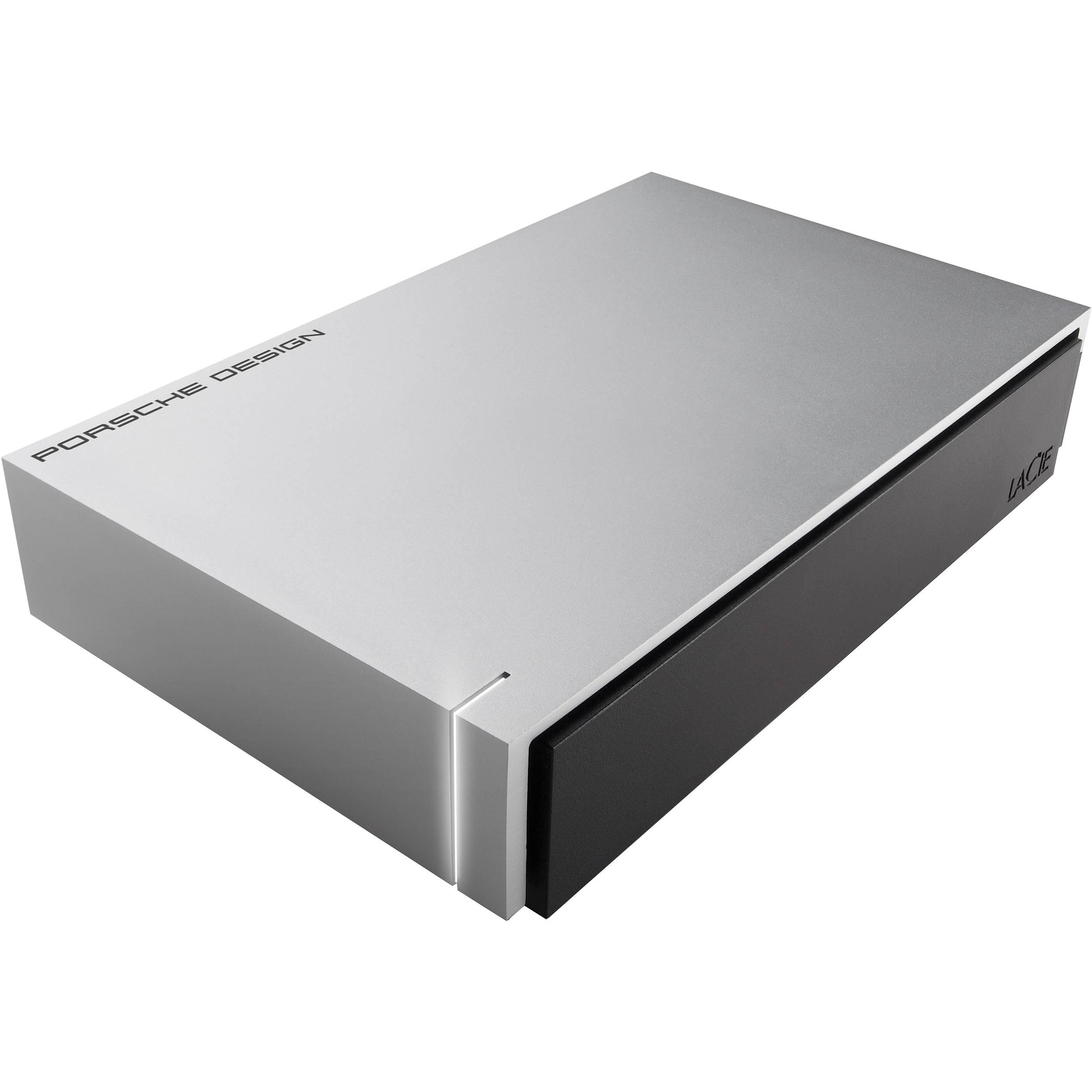 Ext. HDD LaCie Porsche Design Desktop 4TB USB 3.0