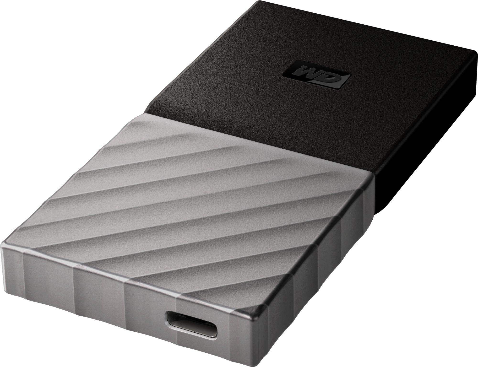 """Ext. SSD 2,5"""" WD My Passport 256GB USB3.1 stříbrná"""