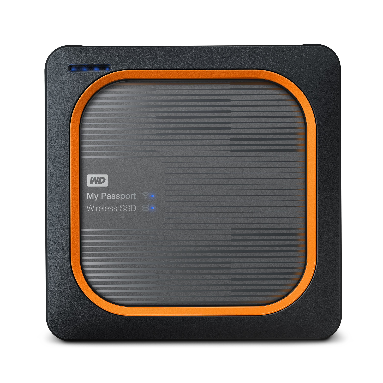Ext. SSD WD My Passport Wireless 500GB USB3.0 SD