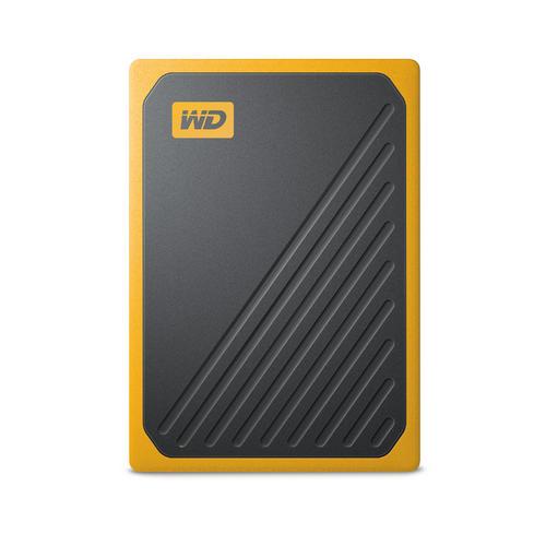 Ext. SSD WD My Passport GO 1TB USB3.0 žlutý