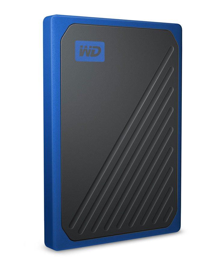 Ext. SSD WD My Passport GO 2TB USB3.0 modrý