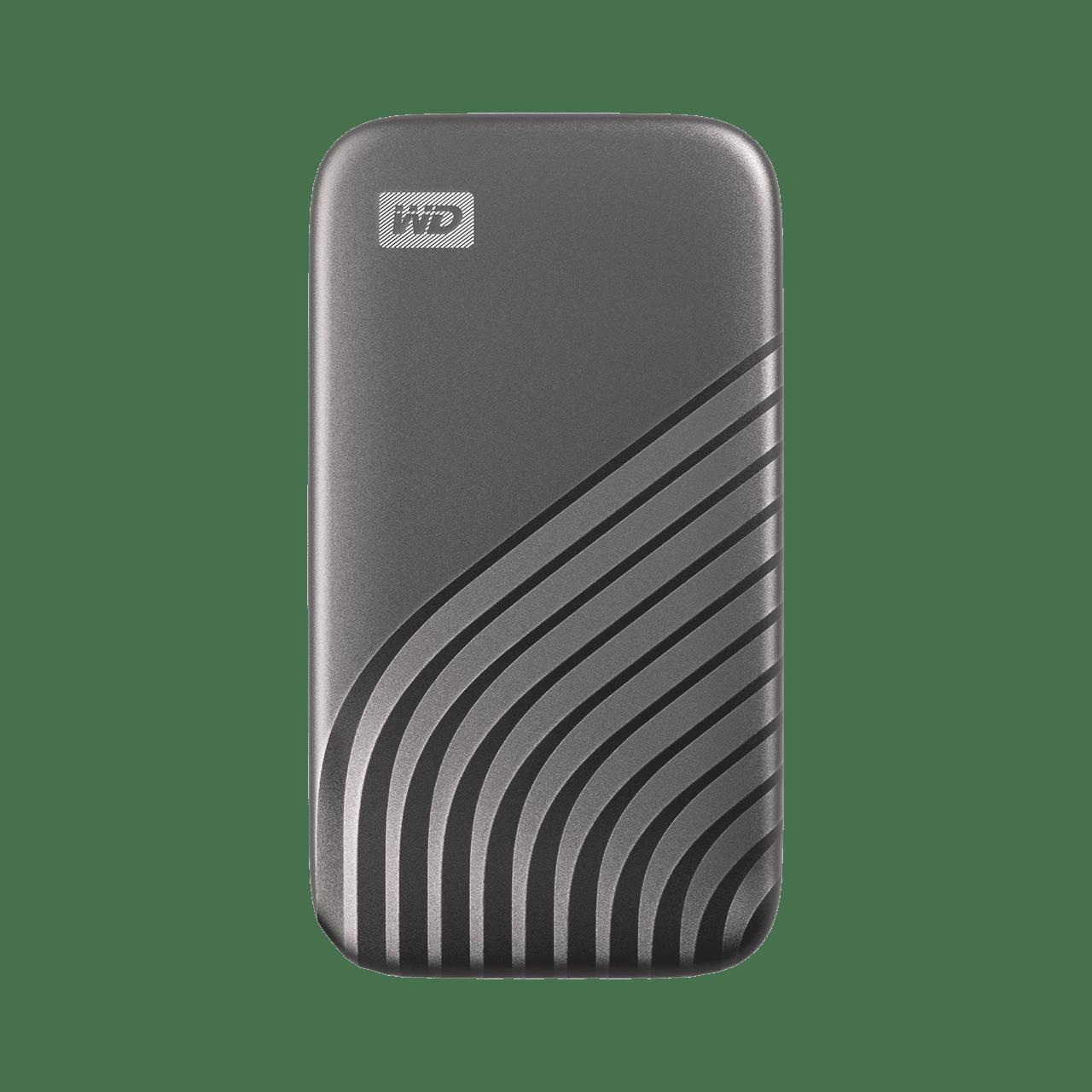 Ext. SSD WD My Passport SSD 500GB šedá - WDBAGF5000AGY-WESN